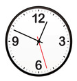 illustrated clock vector image
