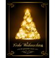 Christmas card Weihnachtskarte vector image vector image