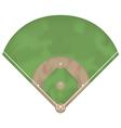 baseball ground vector image