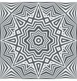 monochrome abstract geometric background vector image