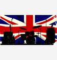 uk rock band vector image