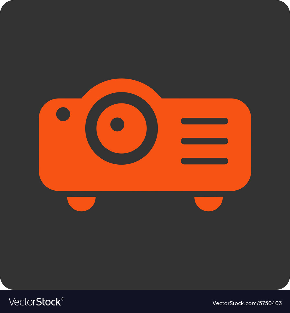 Projector icon vector