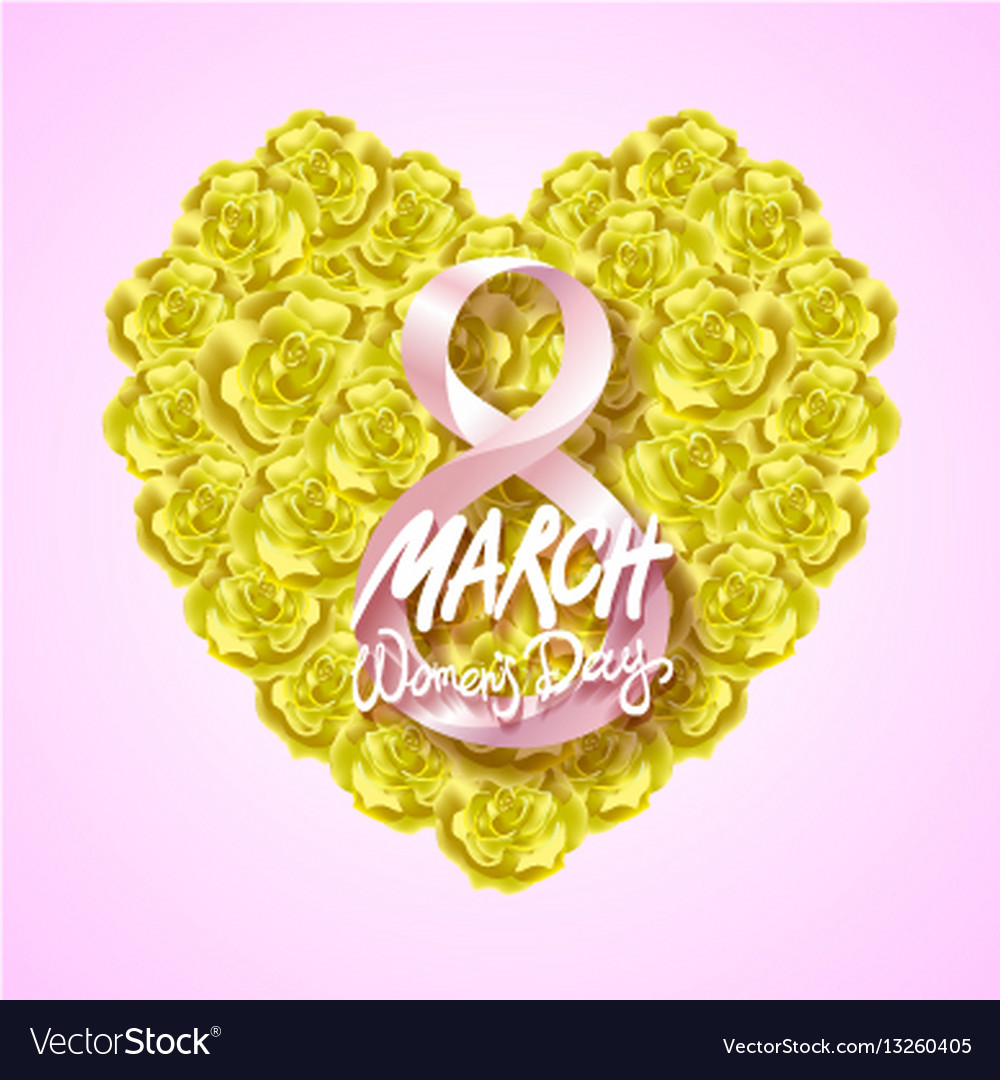 Modern valentines day or 8 march background vector