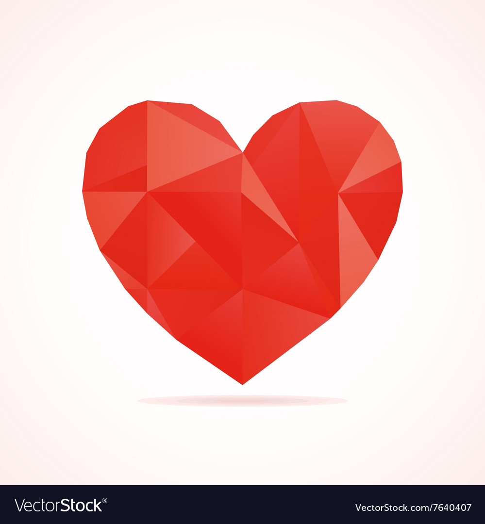 Scrappy heart2 vector