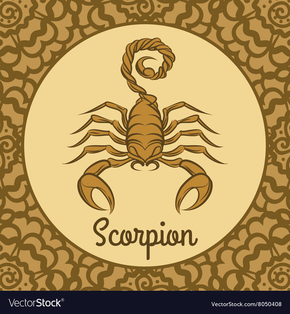 Scorpion logo icon vector