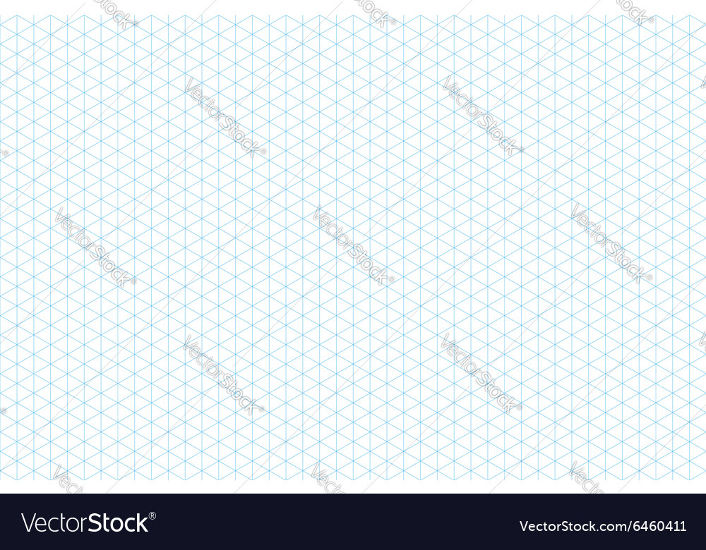 Template isometric grid seamless pattern vector
