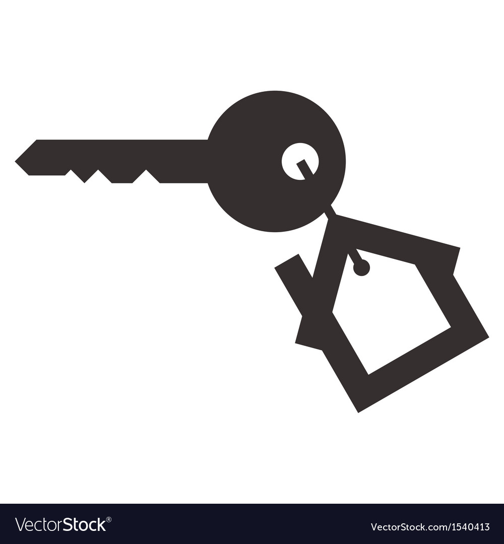 House key vector
