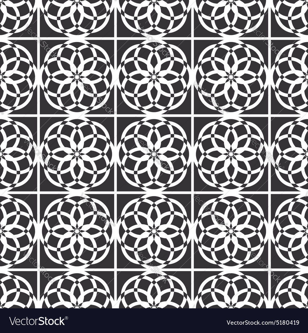 Arabic oriental seamless pattern islamic vector