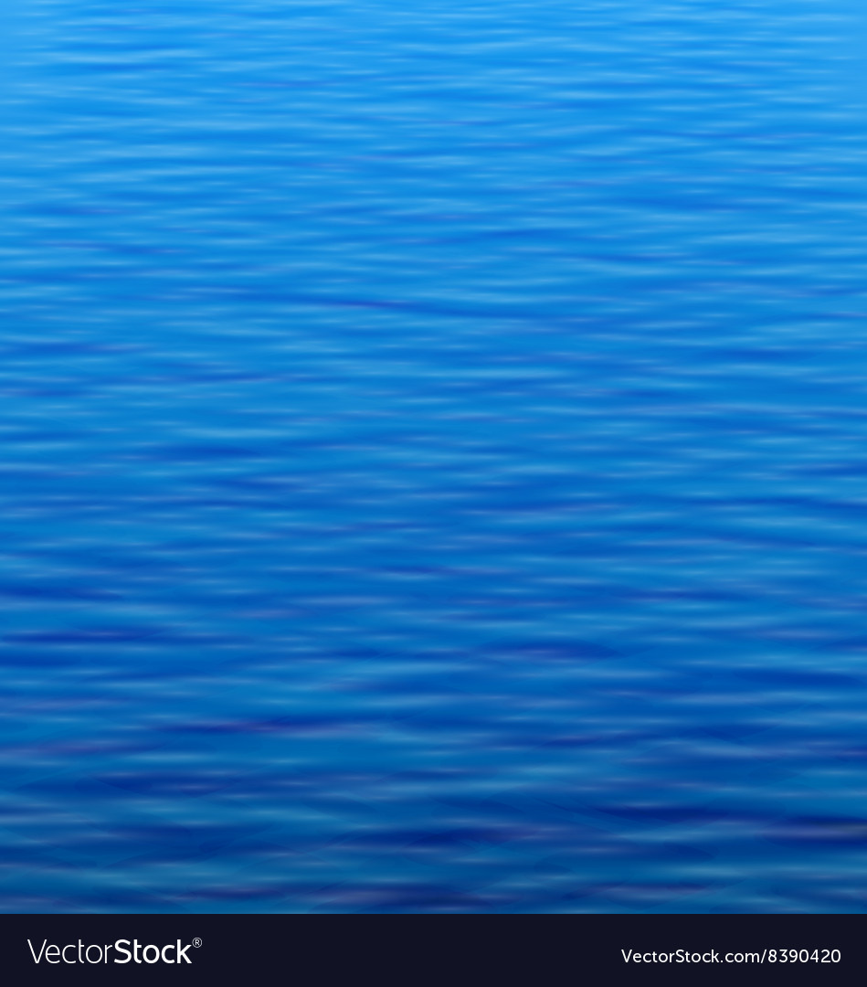 Abstract water background with ripple vector