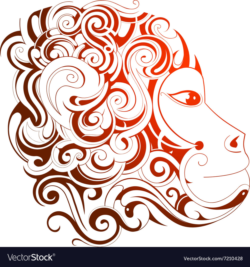 Chinese new year 2016 monkey horoscope symbol vector