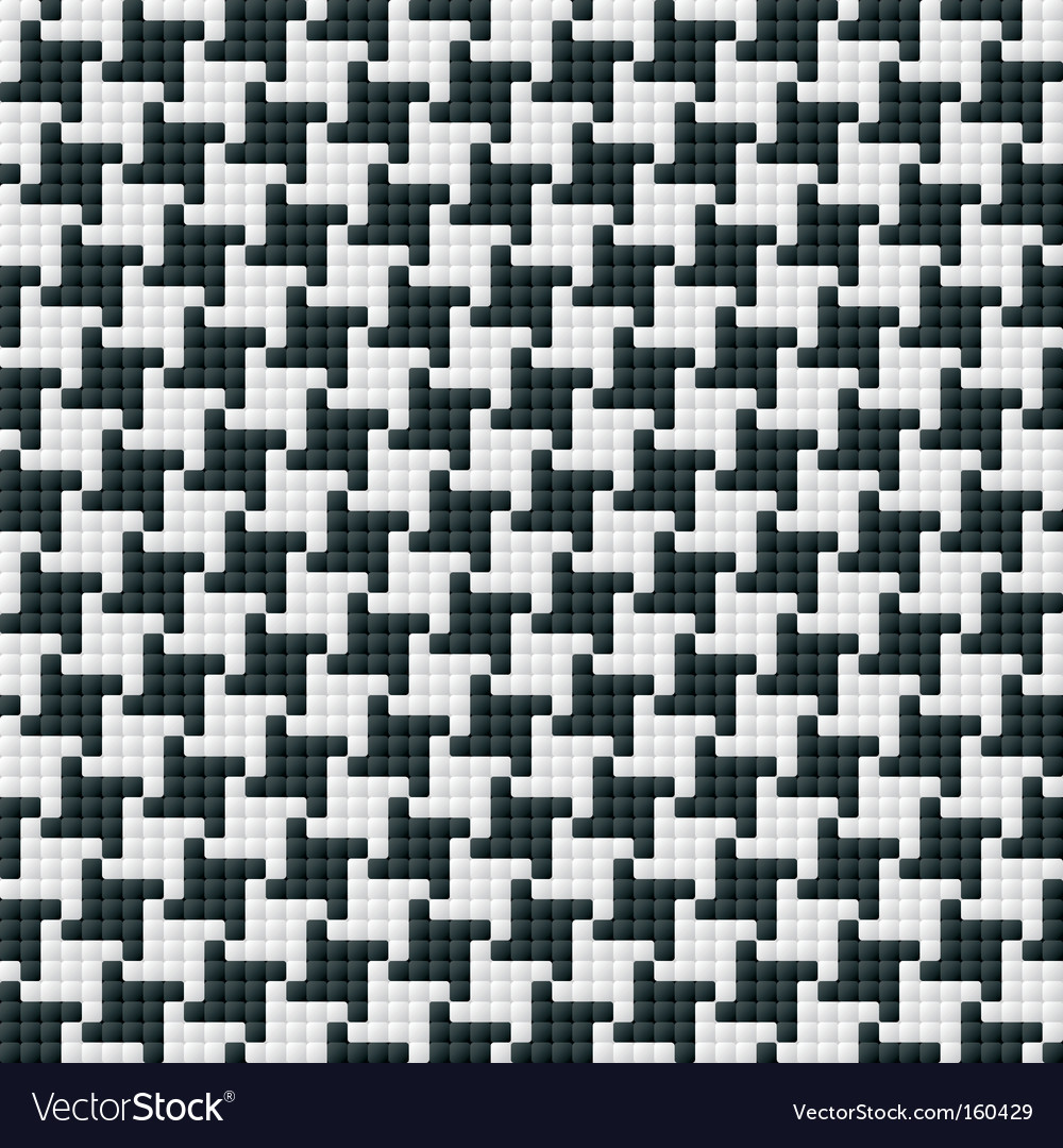 Hounds tooth pattern vector