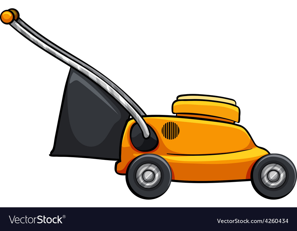 Lawnmower vector