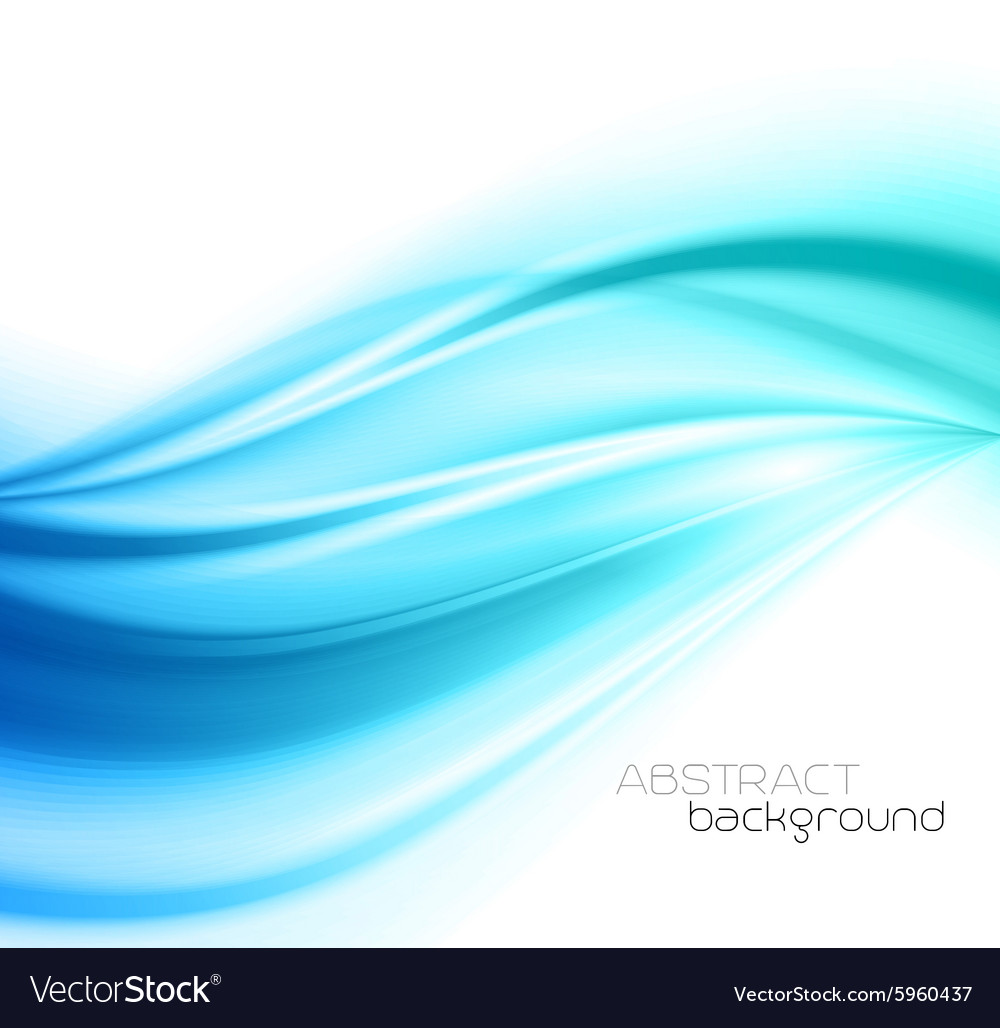 Beautiful blue satin drapery background vector