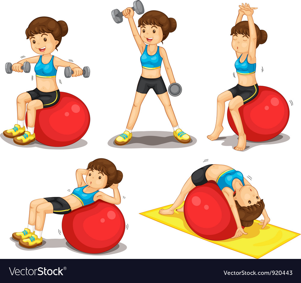 Fitness series vector
