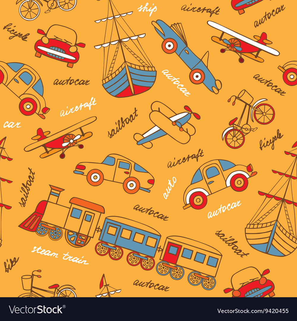 Pattern with retro transport vector