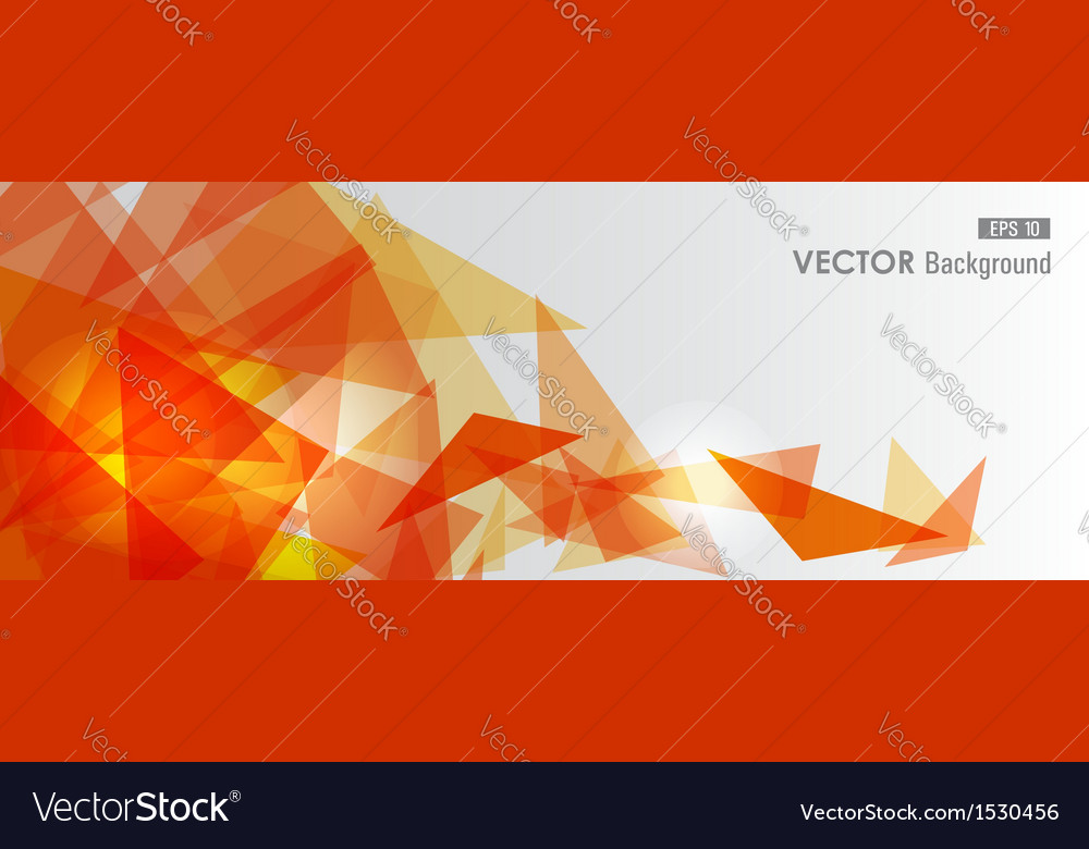 Orange geometric transparency vector