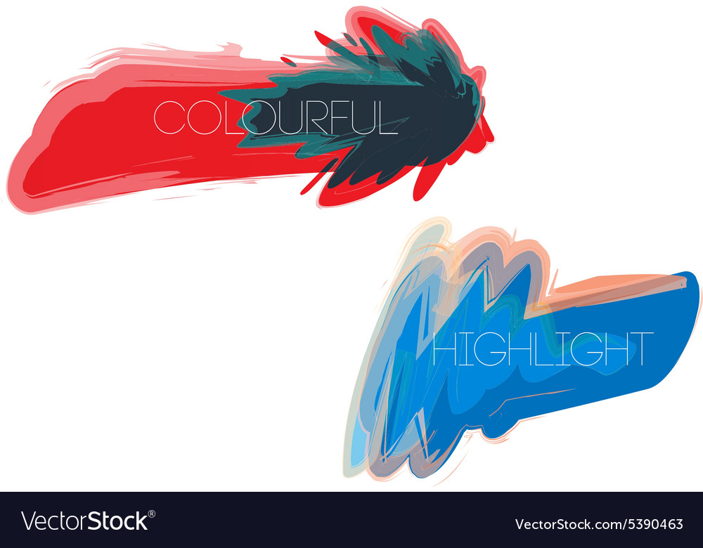 Colourfulhighlight vector
