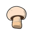 Mushroom healthy food organic food market icon vector image