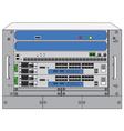 rack systemdatabase machine vector image