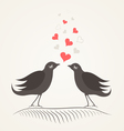 Love a bird2 vector image