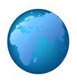 Globe Europe Africa vector image vector image