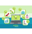 Fashion purchases sale discount vector image