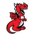 cute dragon vector image vector image