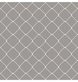 Nautical rope seamless fishnet pattern on gray vector image