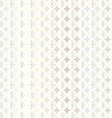 silver snowflake pattern vector image