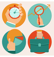 business concepts circles vector image