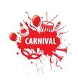 Carnival logo vector image