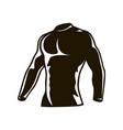 compression men suit men cycling winter fleece vector image
