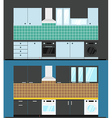 Different kitchen composition vector image