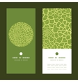 abstract green natural texture vertical vector image