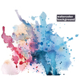 Watercolor abstract background vector image vector image