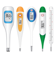 electronic thermometers vector image
