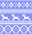 winter design elements vector image