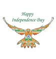 Happy India Independence Day Independence Day vector image