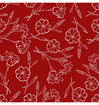 carnation pattern vector image