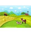 farmlandscape vector image