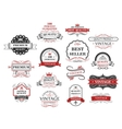Premium and quality banners vector image vector image