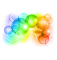 bubble abstract background vector image