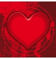 heart for various designs vector image vector image