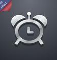alarm clock icon symbol 3D style Trendy modern vector image
