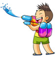kids water vector image