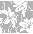 lily seamless pattern vector image