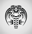 King Cobra Tribal vector image