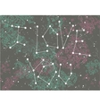 Phrase I love you in a form of constellation vector image