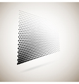 Abstract halftone dots vector image