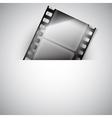 Movie background vector image